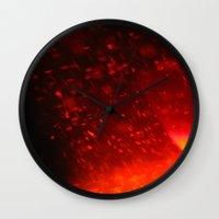 coke Wall Clocks featuring Coke by Anastasia Bogdanchikova