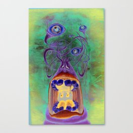 BLARGH Canvas Print