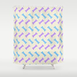 Herring 'bone' – Pastel Shower Curtain