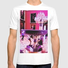 The power of art and culture. Mens Fitted Tee MEDIUM White