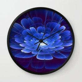 Blossom of Infinity Wall Clock