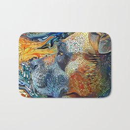 The PITTIE-MIX from our POP YOUR POOCH line Bath Mat
