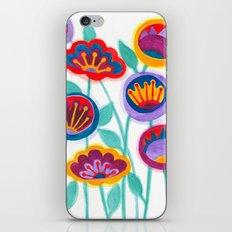 raw flower garden iPhone Skin