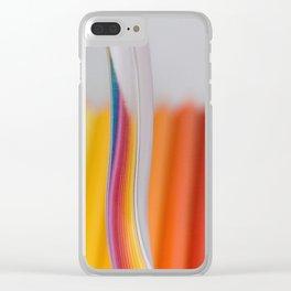 color linen Clear iPhone Case