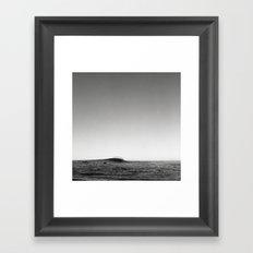 Mavericks on 120mm Framed Art Print