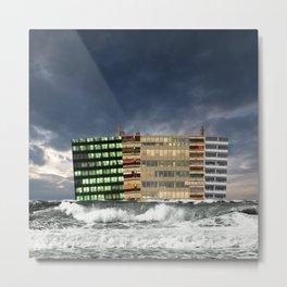 atmosphere · wave of multilation Metal Print