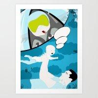 "My Daddy Is a... ""Jet Engine"" Art Print"