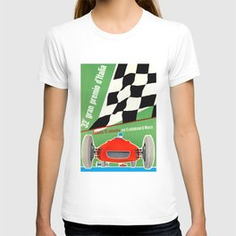 1961 Italian Grand Prix Advertising Poster T-shirt