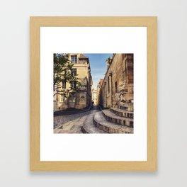 Shades of Paris Framed Art Print
