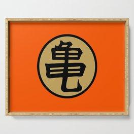 Kame kanji Serving Tray