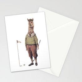 Alpaca Golf Club Stationery Cards
