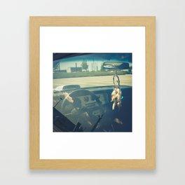 Pontiac Trans Am Ram Air american muscle car Framed Art Print