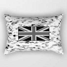 Camouflage: Alpine VI (British Flag) Rectangular Pillow