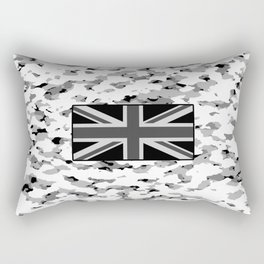 Camouflage: Alpine VI (British Flag) Rectangular Pillow