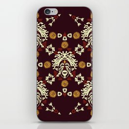African Tribal mask ethnic. iPhone Skin