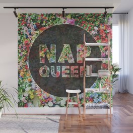 Nap Queen Floral Style Wall Mural