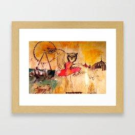 DANCING QUEEN Framed Art Print