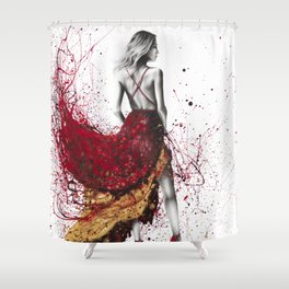 Fashion Gold Shower Curtain