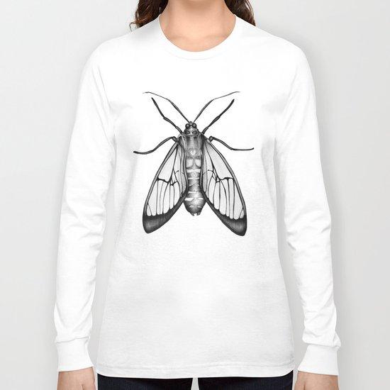 Wasp Moth Long Sleeve T-shirt