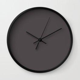 Belly Rub ~ Wenge Brown Wall Clock