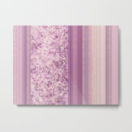 GRAPHIC POP - pastell Radiant Ochid Metal Print