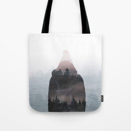 All your weight falls on me Tote Bag