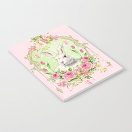 Spring Bunny Notebook