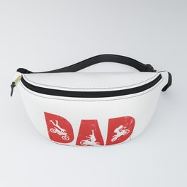 Mens Dad The Man The Myth The Legend design Gift For Motocross Fanny Pack