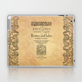 Shakespeare, Romeo and Juliet 1597 Laptop & iPad Skin