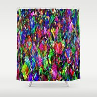 tim burton Shower Curtains featuring Dragons by Tim Henderson by WhatisArt