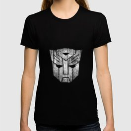 Autobot Monochrome Wood Texture T-shirt