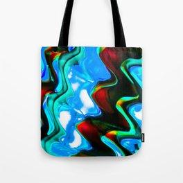 Contrasting Colors Tote Bag