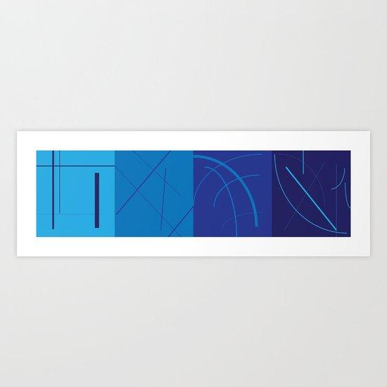 Lineweight Art Print