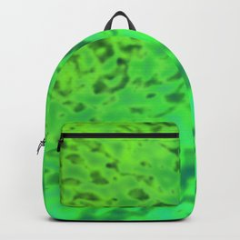 Harmless surface of the swamp ... Backpack