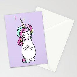 NAMASTE Unicorn Stationery Cards