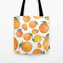Rome Forest Oranges Tote Bag