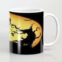 scary Mugs featuring SCARY HALLOWEEN by Acus