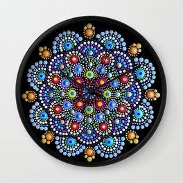 Mandala power Wall Clock