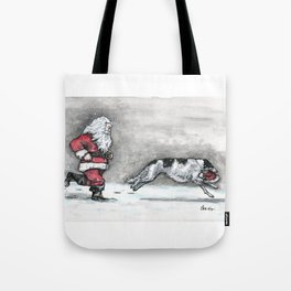 Come and Get It Santa! Tote Bag