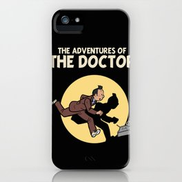 The Adventures Of The Doctor iPhone Case