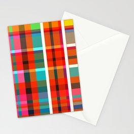 Madras Bright Check Stationery Cards