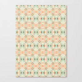 Ethnic Moroccan Motifs Seamless Pattern 18 Canvas Print