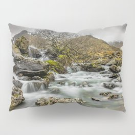 Lone Tree On The River Pillow Sham