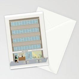 Milk Crate and Precinct 35, Wellington, NZ Stationery Cards