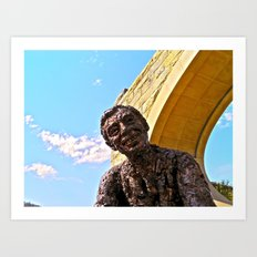 A Beautiful Day in the Neighborhood - The Fred Rogers Memorial Art Print
