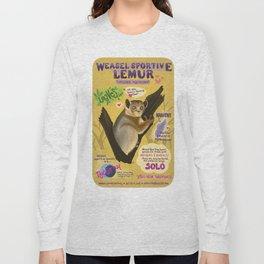 Sportive Weasel Lemur Long Sleeve T-shirt