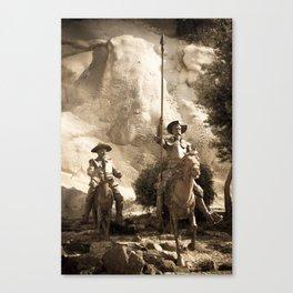 Don Quixote Of La Mancha Canvas Print