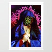 Holy Mary Jane Art Print