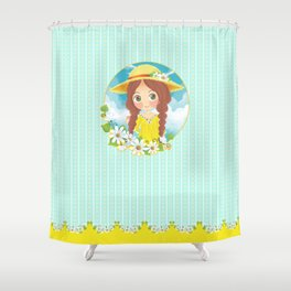 Lovely Summer Shower Curtain