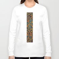 antique Long Sleeve T-shirts featuring ANTIQUE PATTERN by Klara Acel